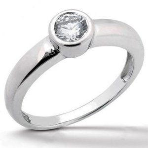 1.50 ct. G SI1 diamond Solitaire engagement ring g
